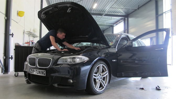 Chiptuning BMW 535d