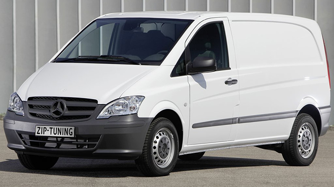 Chiptuning Mercedes Benz Vito 120 CDI