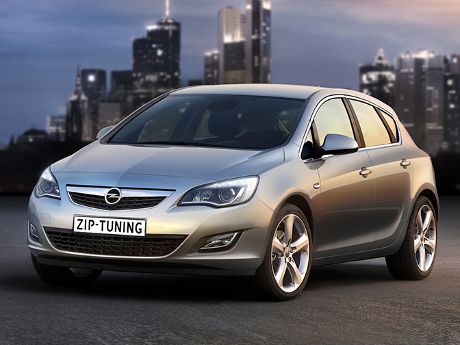 Chiptuning Opel Astra 1.4 Turbo 140 pk
