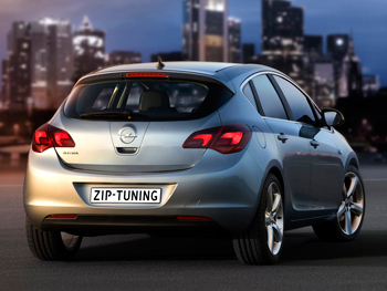 Opel Astra 1.4 Turbo Chiptuning