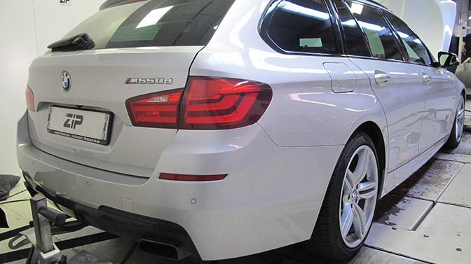 BMW M550D ziptuning chiptuning