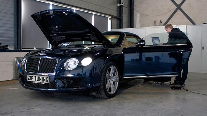 Bentley Continental gtc ziptuning chiptuning