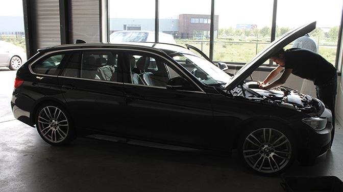 BMW 320d ziptuning chiptuning