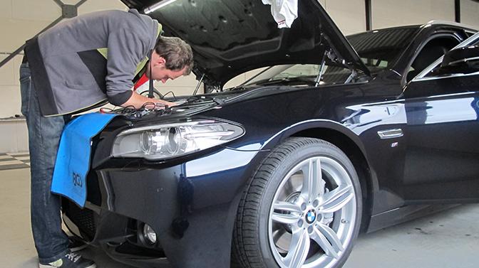 BMW 528i ziptuning chiptuning