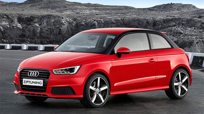 Audi a1 ziptuning chiptuning