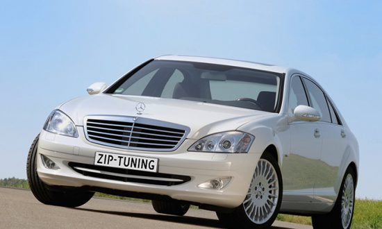mercedes benz S320 cdi blue efficiency 2009 chiptuning