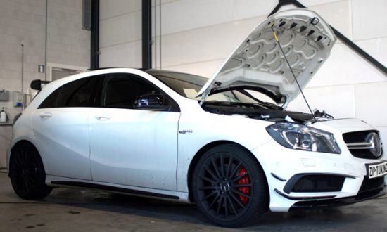 chiptuning mercedes benz a45 amg