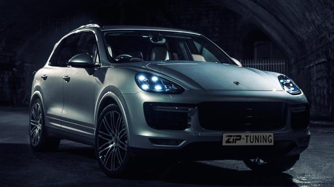 Porsche Cayenne chiptuning