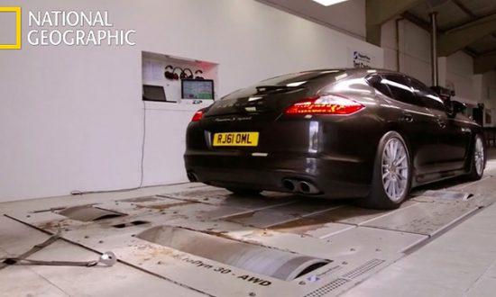 Supercar megabuild Porsche panamera hybrid
