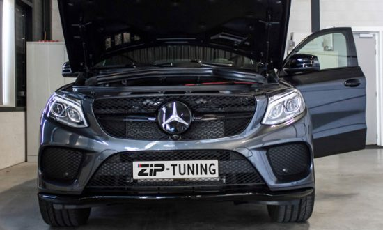 Mercedes Benz GLE 450 AMG chiptuning