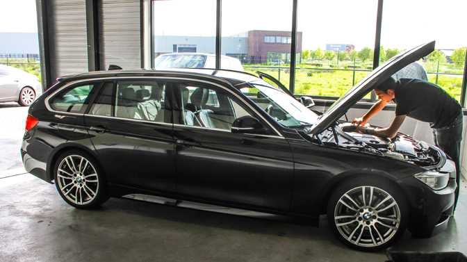 BMW 320d 184 pk chiptuning