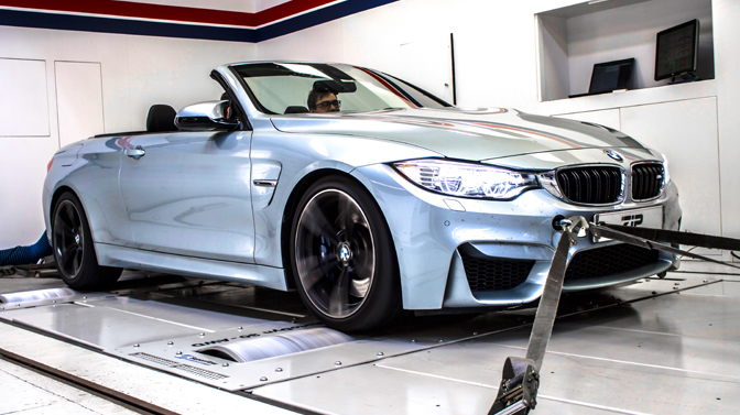 BMW M4 f82 431 pk chiptuning