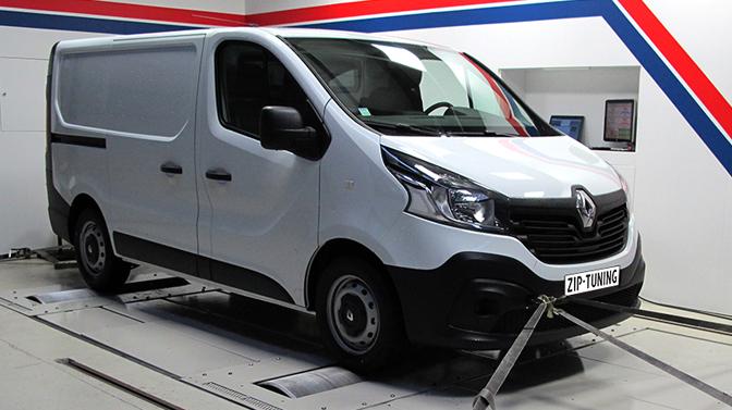 Renault Trafic 1.6 DCI chiptuning