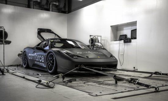 Ferrari 458 challenge chiptuning