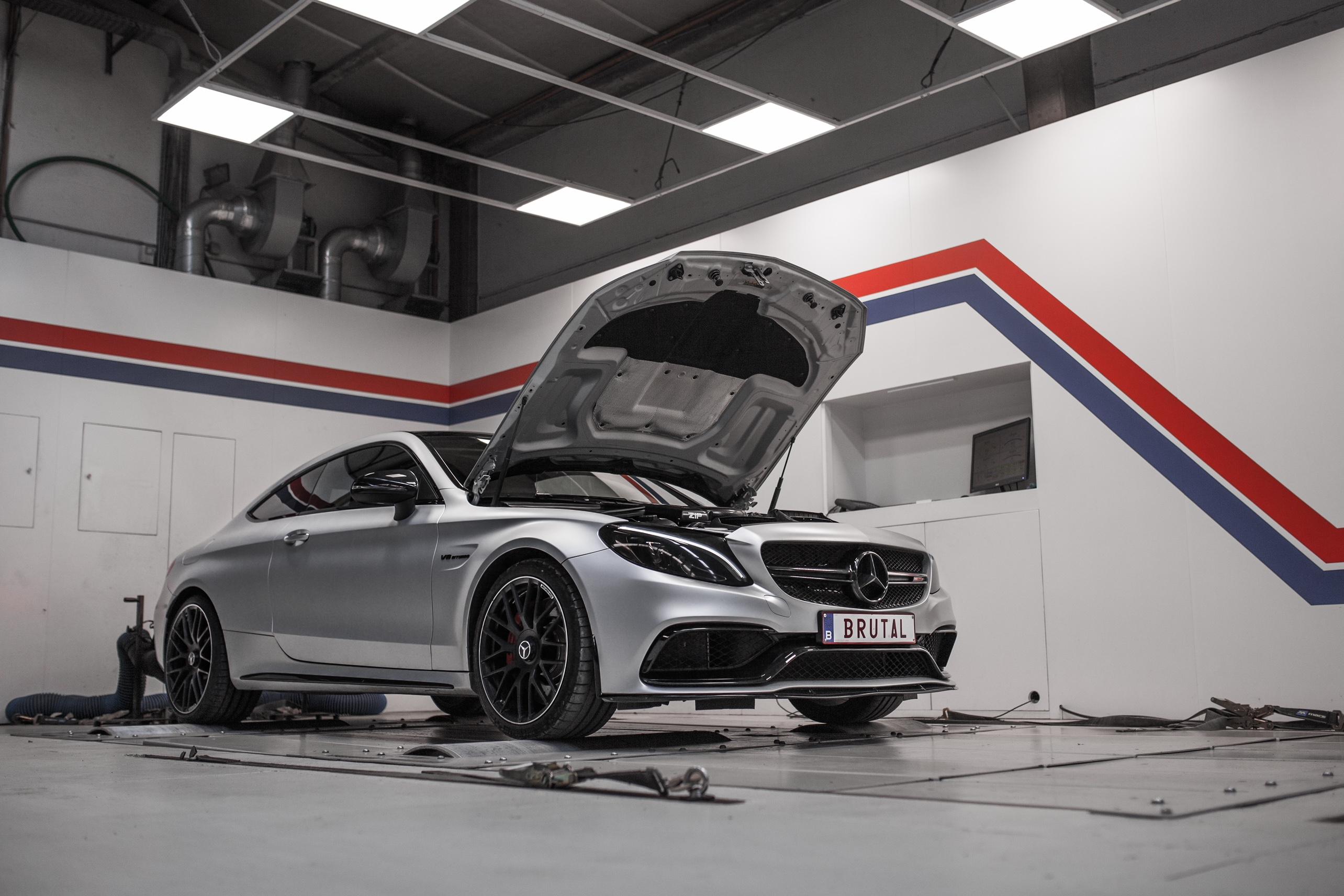 Chiptuning Mercedes-AMG C63 S
