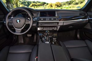 BMW F10 5 Series interieur