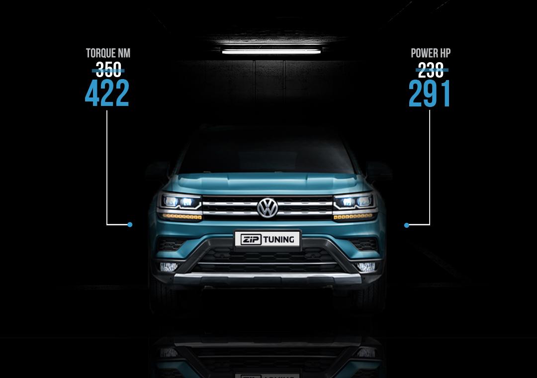Chiptuning Volkswagen Atlas 2.0 I4