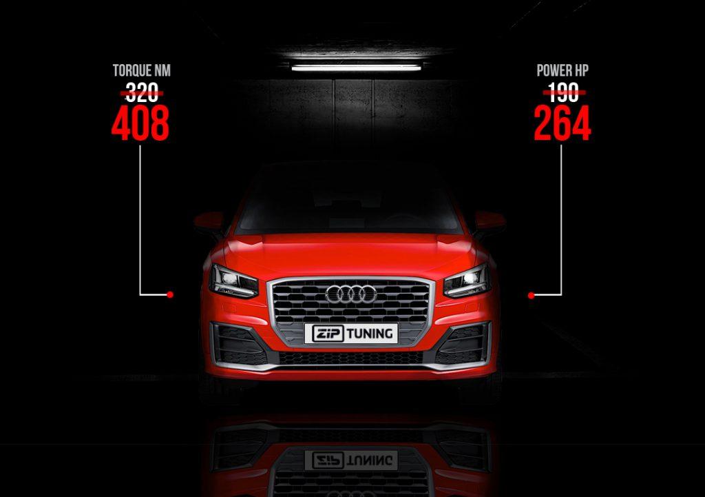 Audi Q2 2.0 TFSi tuning