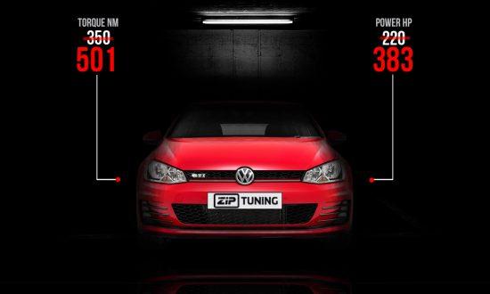 Volkswagen 7 GTI Tuning