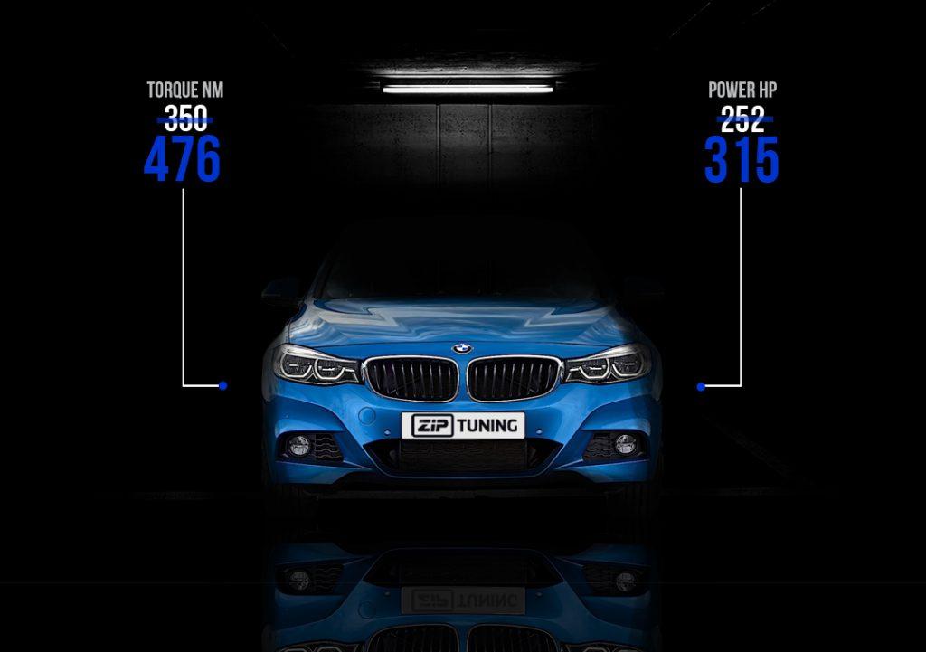 Tuning BMW 330I GT